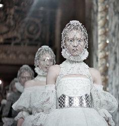 Ladies and Gentlemen, #Alexander McQueen A/W 2013 photographed by Schohaja