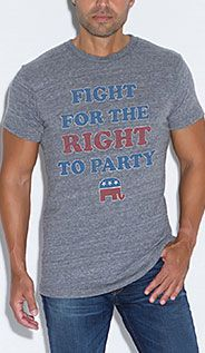 Right to Party-Teeology: Limited Edition Luxury Tees
