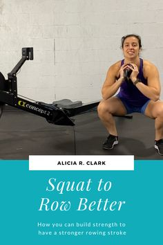 Alicia R. Clark | Once your rowing technique is mostly dialed in, the next best way to get better is to get stronger. One movement, which is also a popular one, is to squat. There are multiple reasons why it's good to squat. Check it out! #indoorrowing #rowing #strengthtraining Squat Technique, Rowing Technique, Front Squat, Split Squat, Proper Squat Form, How To Squat Properly, Body Weight Squat, Ankle Mobility, Strength Program