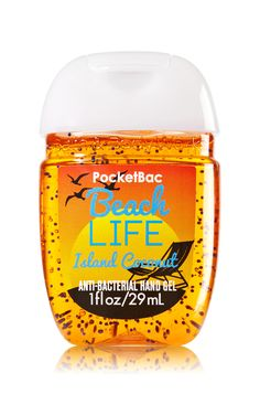 Beach Life PocketBac Sanitizing Hand Gel - Soap/Sanitizer - Bath & Body Works