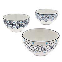 Mickey Mouse Icon Indigo Soup Bowl Set - Small | Disney Store