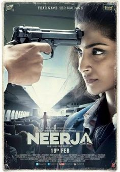 In the theater this month: Neerja (2016), a story of beauty and bravery.