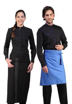 Uniformes de Camarero @vittoriouniformes, ropa para su personal de sala de Restaurante o Bar.#uniformes #uniformesrestaurante #uniformescamarero Erika, Delivery, Long Sleeve, Sleeves, Women, Fashion, Work Uniforms, Work Wear, Serving Cart