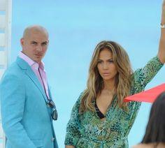 Pitbull & J.Lo <3