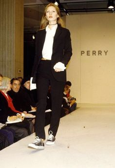 Kate Moss, Marc Jacobs for Perry Ellis S/S 1993, New York 1992