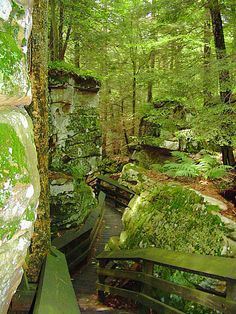 Beartown State Park, West Virginia  http://www.wvyourway.com/west_virginia/tourism.aspx