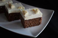 Prajitura cu ciocolata si crema de cocos Coco, Deserts, Sweets, Goodies, Desserts, Dessert, Postres, Candy, Treats