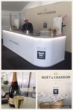 Mark Bric Display was in full swing as a proud sponsor of the Nordea Masters Golf Tournament in Sweden. Mark Bric partnered with Moët & Chandon to create a crowd gathering VIP Bar with attention-getting, decorative LED Deco-Lights The backdrop, an ISOframe Fabric wall, was over 16' long and almost 10' high. Holiday events are coming soon...do you need a portable bar, check-in station, reception counter for your special event? Mark Bric has the perfect solution. Call 800-742-6275 #event