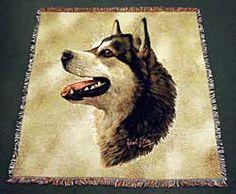 Alaskan Malamute Blanket $47.00