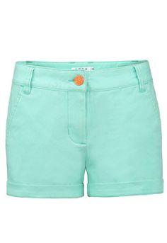 Green Street Pockets Straight Shorts