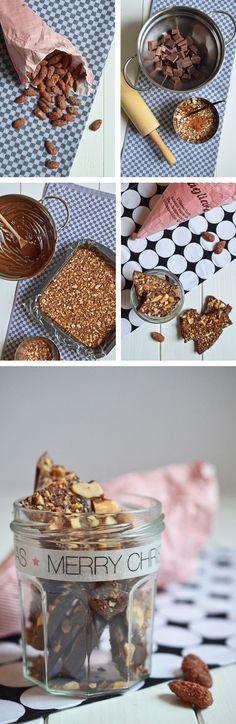 Anleitung für selbstgemachte Weihnachtsschokolade