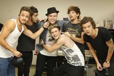 One Direction with Olly Murrs