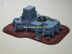 WARHAMMER 40K Field Command Bunker