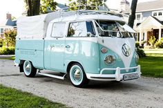 ✪ Volkswagen Type 2 Double Cab - I want one of these!!!