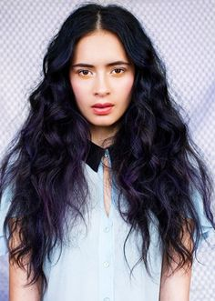 Coloring Black Hair Without Bleach - http://www.haircolorer.xyz ...