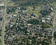 Baylor University  Aerial Photography