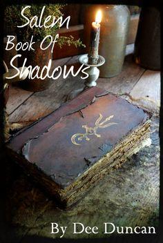 Salem Book of Shadows E-Pattern on We Heart It Halloween Spell Book, Halloween Spells, Holidays Halloween, Halloween Crafts, Halloween Decorations, Halloween Stuff, Halloween Costumes, Wiccan Spells, Witchcraft