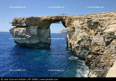 The Blue Hole in Gozo, one of the Maltese Islands. I have this exact photo I took way back in 1981. I dream to taking the kids there someday!