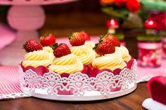cupcake frutillitas