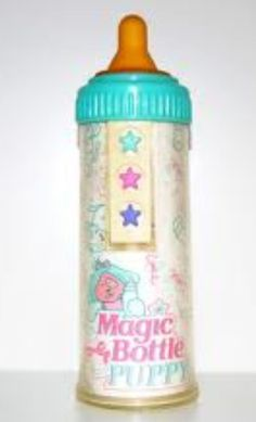 Magic bottle baby. I forgot about this!