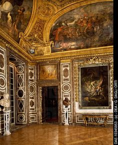 Salon of Diana, Palace of Versailles UNESCO World Heritage , Versailles , France, 17th century.
