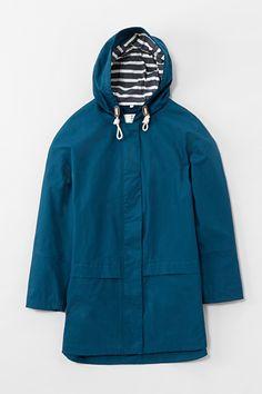 Waterproof, Square Sail Ripstop Cotton Tin Cloth Coat - Seasalt £120, up to sz 26