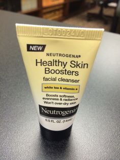 Neutrogena Healthy Skin Boosters Facial Cleanser -- Honestly, you can never go wrong with Neutrogena products. I have not had one bad experience with their products from their cosmetics to their skincare line. *I received this product complimentary for testing and/or reviewing purposes*