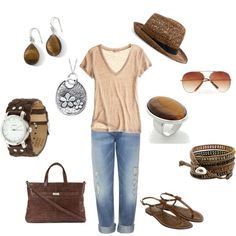 Casual Outfit, created by thesterlingcharm on Polyvore
