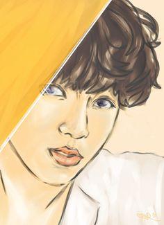 Jungkook fanart Jungkook Fanart, Fan Art, Fictional Characters, Fantasy Characters