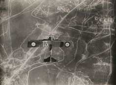 Over the Battle of Verdun in World War I