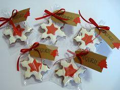 Daisy Handmade Diy Cookie Packaging, Daisy, Cookies, Christmas Ornaments, Holiday Decor, Handmade, Crack Crackers, Hand Made, Margarita Flower