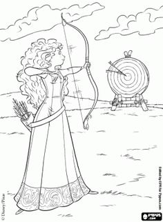150 Best Brave Coloring Pages Images Coloring Pages