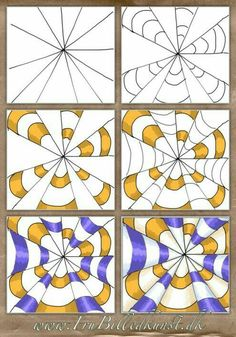 op art kegler – www.FruBilledkuns… op art kegler – www. Optical Illusions For Kids, Optical Illusions Drawings, Illusion Drawings, Art Optical, Art Drawings, Illusions Mind, Optical Illusion Art, Drawing Art, Op Art Lessons