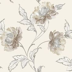 Bronte Neutral Neutral wallpaper by Arthouse