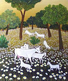 Dusanka Petrovic | Serbian Naive Art info