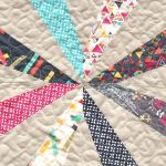 Happy Tuesday! So after many requests and gentle, encouraging nudges (and just because I like you. ^_~) I thought that I would share how to make the quilt block for the baby quilt that I posted about last month. Yahooo!...