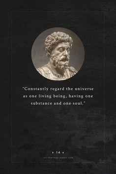 Aristotle and Aurelius