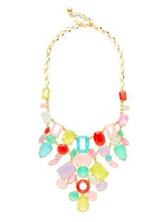 Gumdrop Gems Bib Necklace