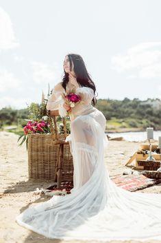 wedding dress 2018 lace silk vintage longtrain mermaid