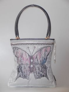 New bag with butterfly application