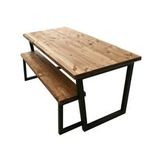 Reclaimed Dining Table, Buy Dining Table, Rustic Kitchen Tables, Industrial Dining, Solid Wood Dining Table, Rustic Table, Dining Room, Dining Set, Timber Table