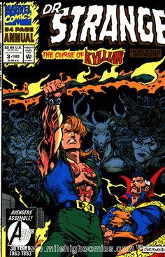 Doctor Strange - Sorcerer Supreme Annual # 3 by Geof Isherwood