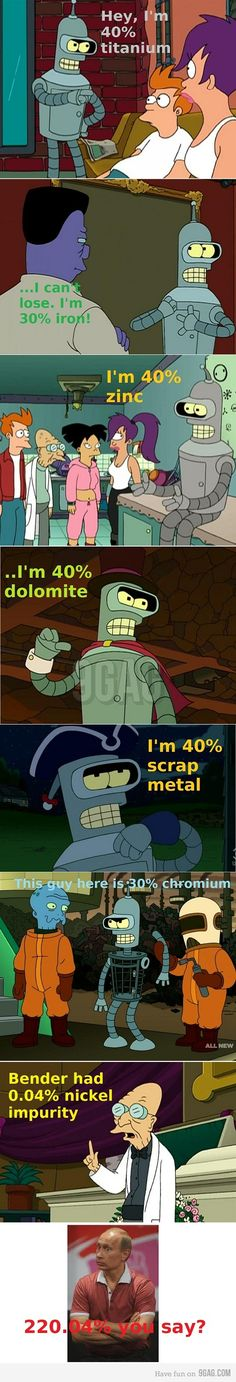 The composition of Bender.