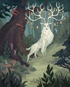 6 Servietten Wald Tiere Serviettentechnik 25 x 25 Forest animals Rehe Eulen Eich