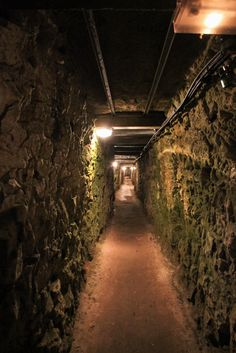 Photo of the tunnel under the Front at Vimy Ridge, France @sieguzi http://www.RenovationBootcamp.com/remembrance-day-tribute-to-canada/