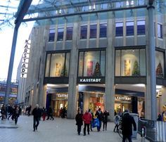 A touch of faded grandeur, but Karstadt remains an impressive department store chain.