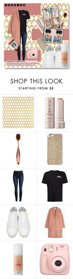 """All I wanted."" by luhansolo ❤ liked on Polyvore featuring Barclay Butera, Fresh, Michael Kors, Hood by Air, Yves Saint Laurent, Acne Studios, Benefit, Fujifilm, gold and Pink"