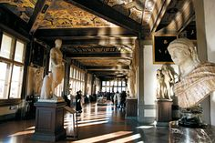 La Galeria degli Uffizi. Florencia Pisa, Giorgio Vasari, Toscana Italia, Museum, Tuscany, Italy, Statue, Pictures, Travel