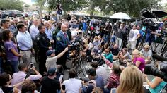 Pulse nightclub shooting:     FBI assistantagentincharge Ron Hopper updates the media hours after the mass shooting in Orlando near the nightclub where 49 people were shot and killed, Sunday, June 12, 2016. Also at the news conference are Orlando Police Chief John Mina, Gov. Rick Scott; Florida Attorney General Palm Bondi, Orange County Sheriff Jerry Demings, and Orlando Mayor Buddy Dyer. (Joe Burbank/Orlando Sentinel)