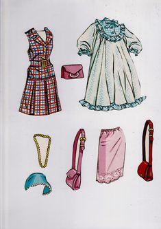 https://flic.kr/p/KfTdC5 | Barbie and Francie Paper Dolls 1966 (4)